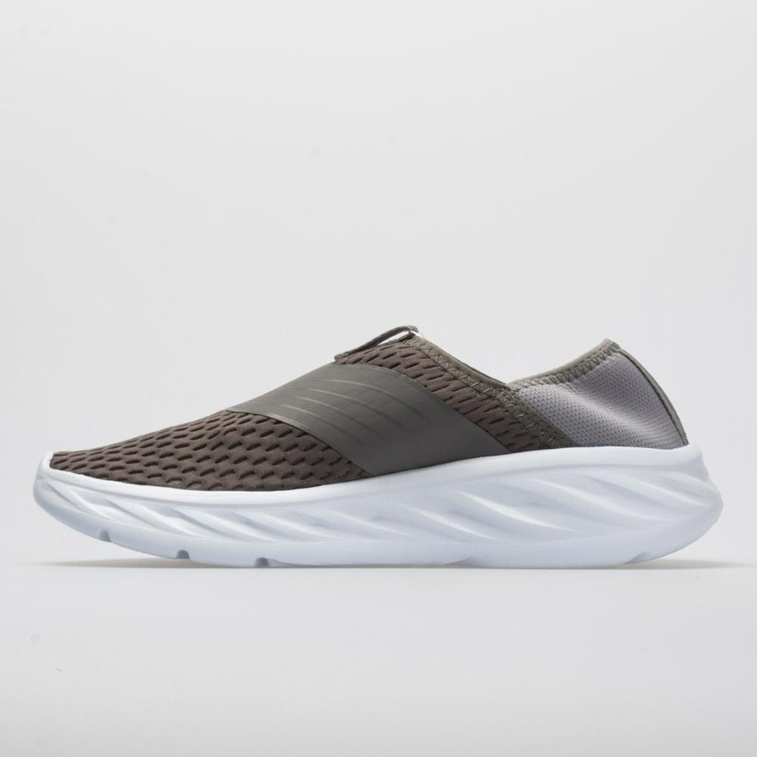 Hoka One One Ora Recovery Shoe Women's Frost Gray/Dark Gull Gray UK Discount Spot Sales