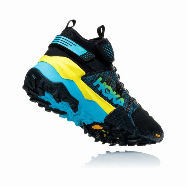 Hoka One One Sky Collection Arkali Hiking Boots Mens Black / Blu