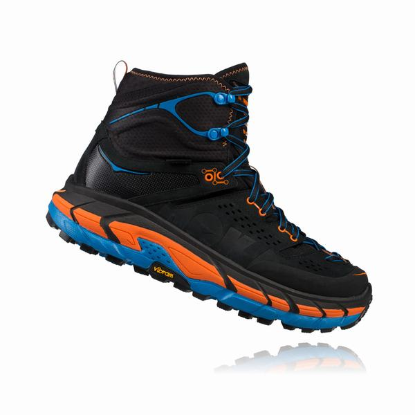 Hoka One One Tor Ultra Hi Hiking Boots Mens Dark Grey / Orange UK Discount Spot Sales